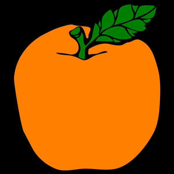 Orange Apple PNG Clip art