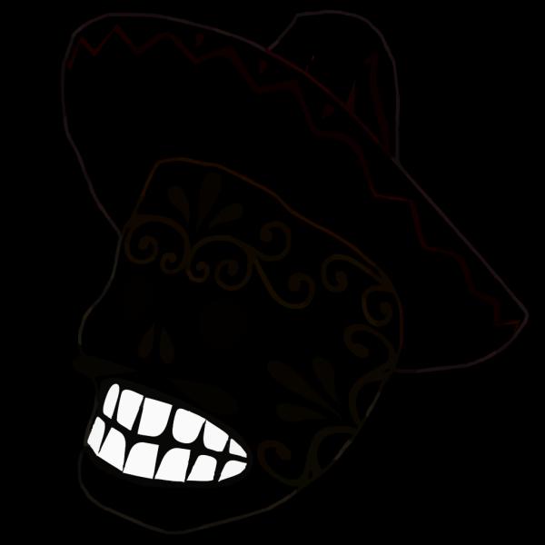 Mask Outline PNG Clip art