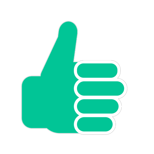 Red Thumbsup PNG Clip art