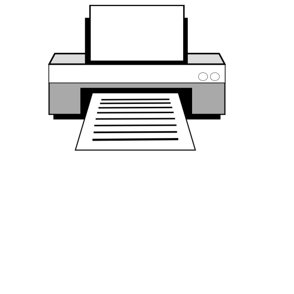 Computer Printer PNG images