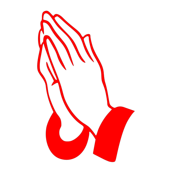 Jonadab Praying Hands Silhouette PNG Clip art