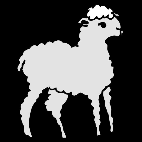 Lamb Art PNG Clip art