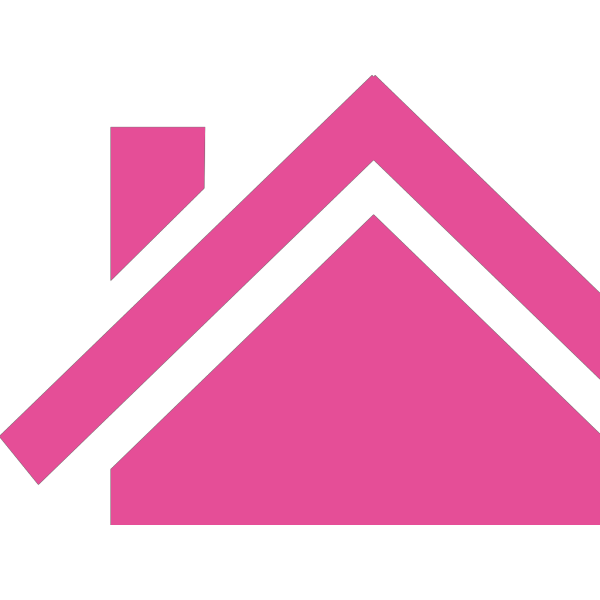 Pink House PNG Clip art