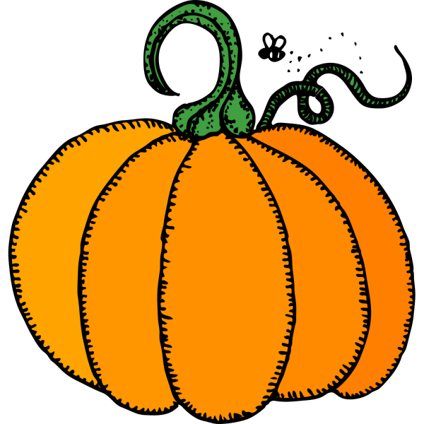 Crazy Goat With A Pumpkin PNG images