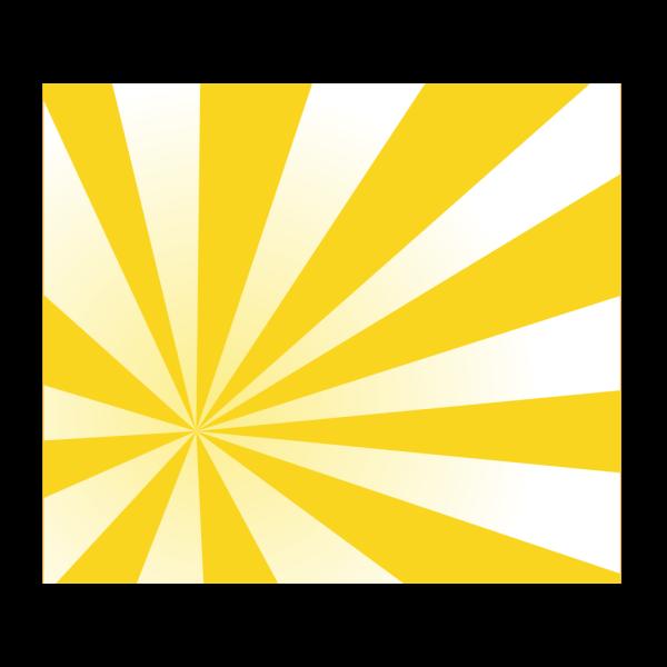 Yellow Sun Rays PNG Clip art