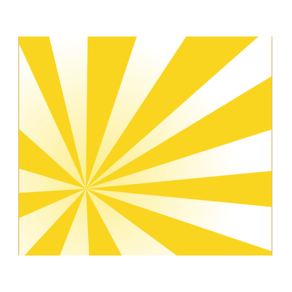Bright Yellow Rays PNG Clip art