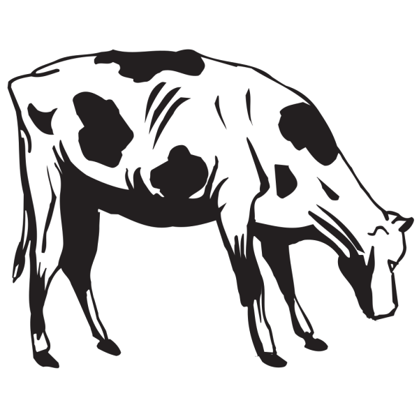 Cow Going To Eat PNG Clip art