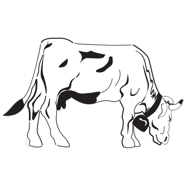 Cow Grazing PNG icons