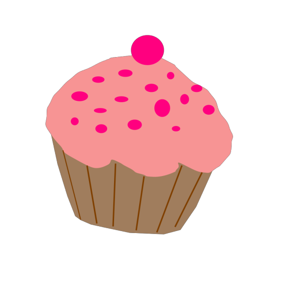 Pink Cupcake PNG Clip art