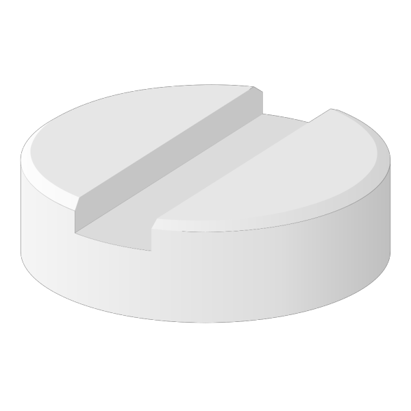 White Pill  PNG Clip art
