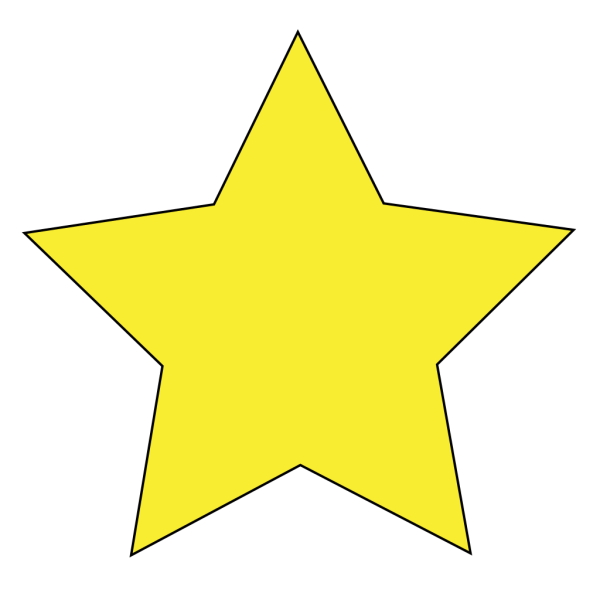 Color Star 3 PNG clipart