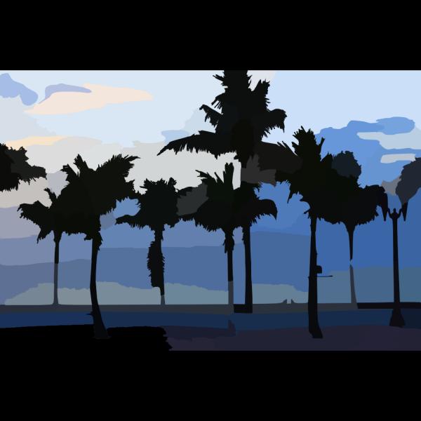 Desert Dawn PNG Clip art