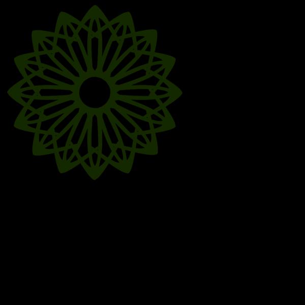 Light Green Flower PNG Clip art