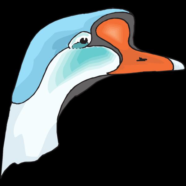 Goose Head PNG Clip art