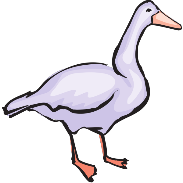 Goose Art PNG Clip art