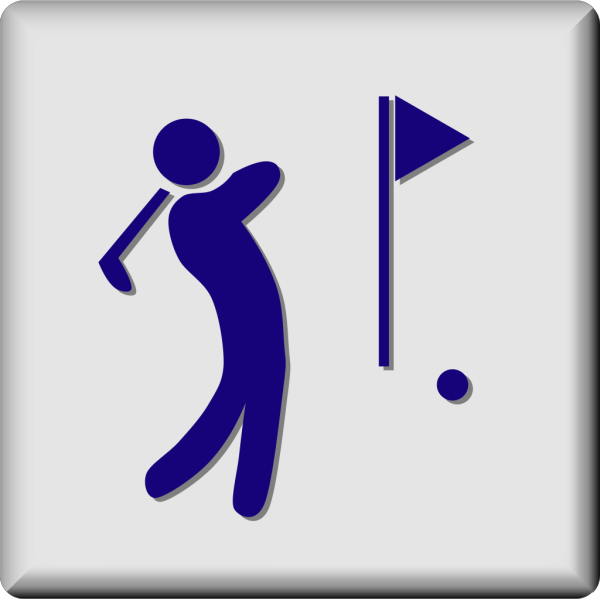 Hotel Icon Golf Course PNG Clip art