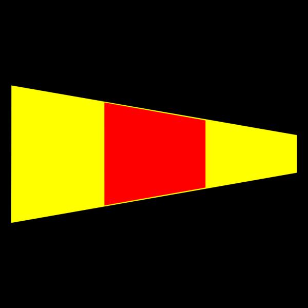 International Maritime Signal Flag 0 PNG Clip art