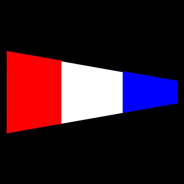 International Maritime Signal Flag 3 PNG Clip art