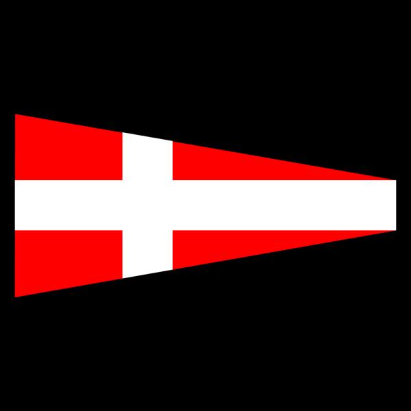 International Maritime Signal Flag 4 PNG Clip art