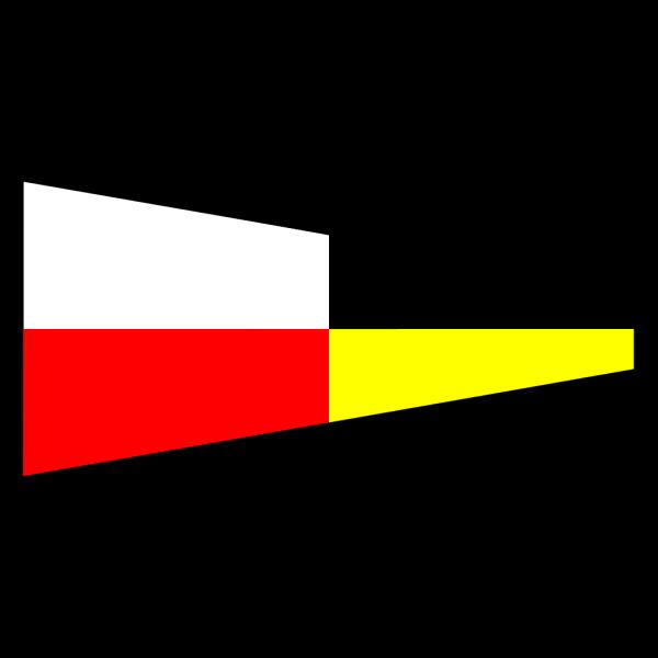 International Maritime Signal Flag 9 PNG Clip art