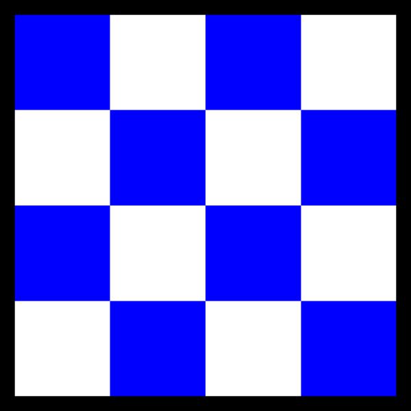 International Maritime Signal Flag November PNG Clip art