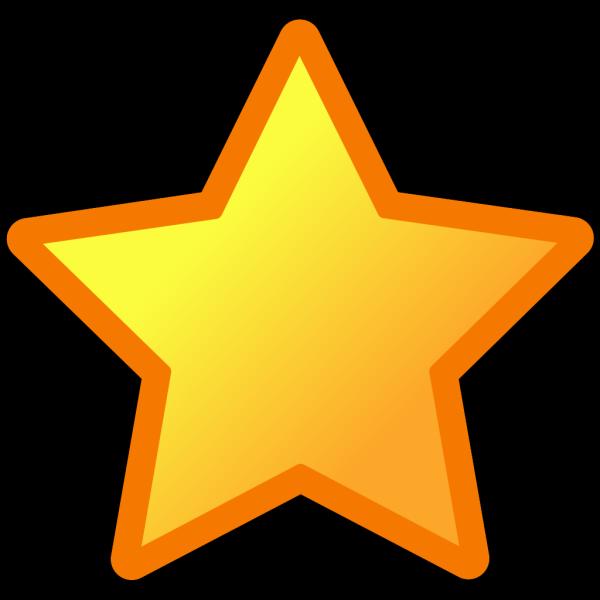 Blue Circled Star PNG Clip art