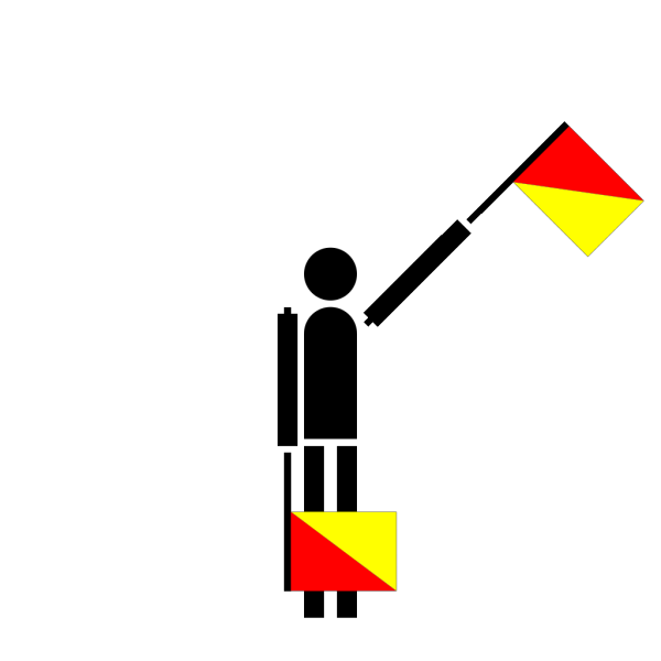 Naval Semaphore Flag E PNG Clip art