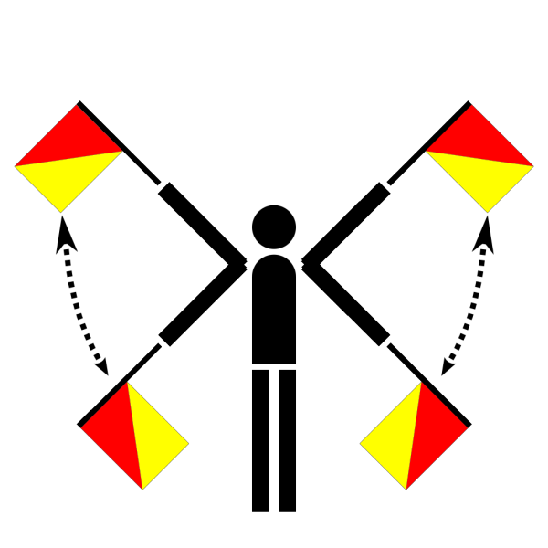 Naval Semaphore Flag Error PNG Clip art