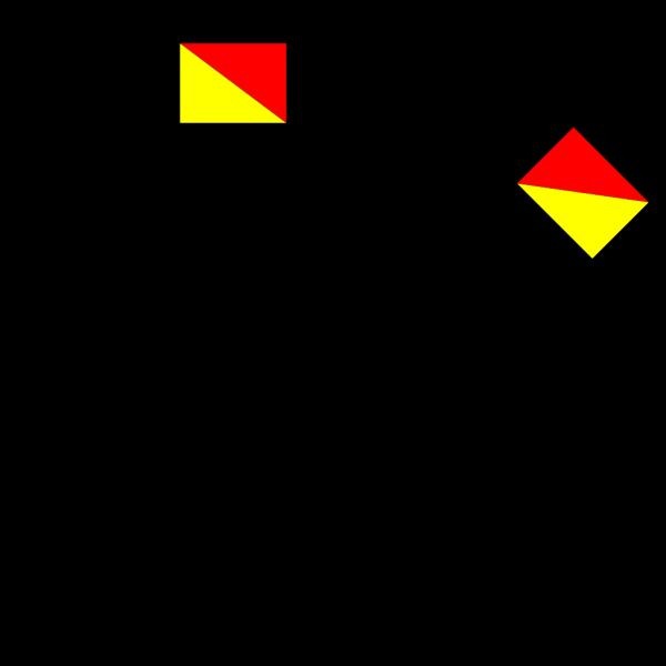 Naval Semaphore Flag Numerical PNG Clip art