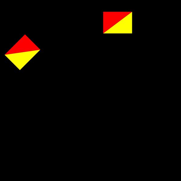 Naval Semaphore Flag T PNG Clip art