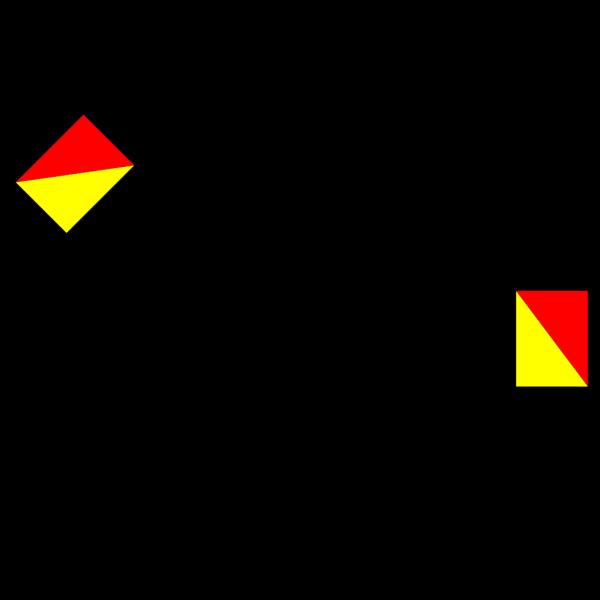 Naval Semaphore Flag Y PNG Clip art
