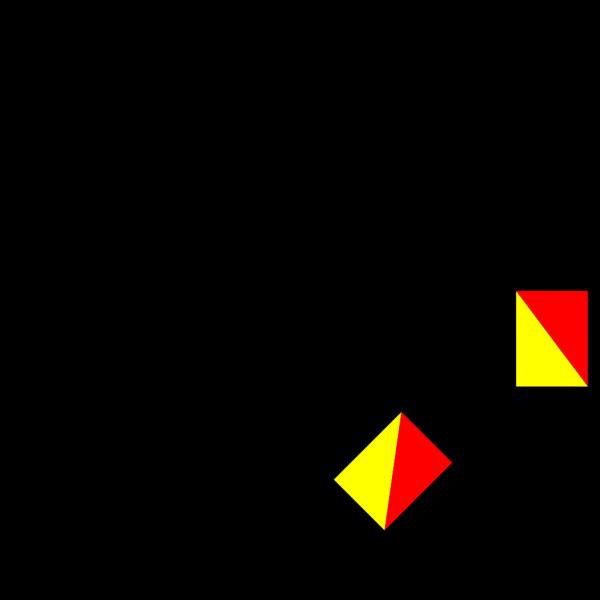Naval Semaphore Flag Z PNG Clip art