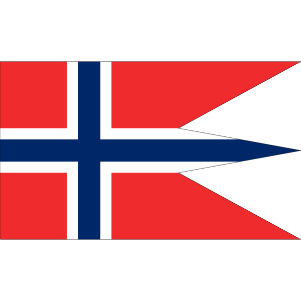 Norwegian State Flag PNG Clip art
