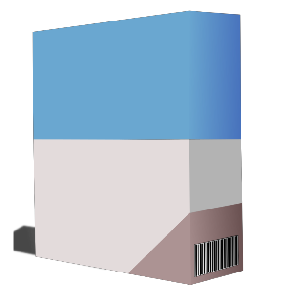 Software Box PNG Clip art