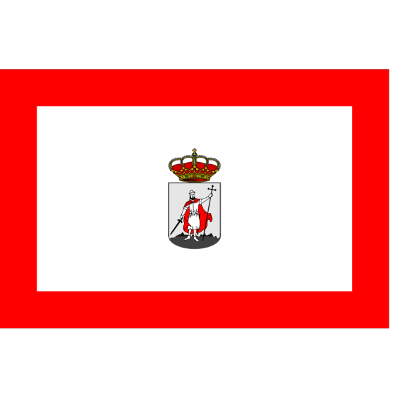 City Flag Of Gijon, Asturies, Spain PNG Clip art