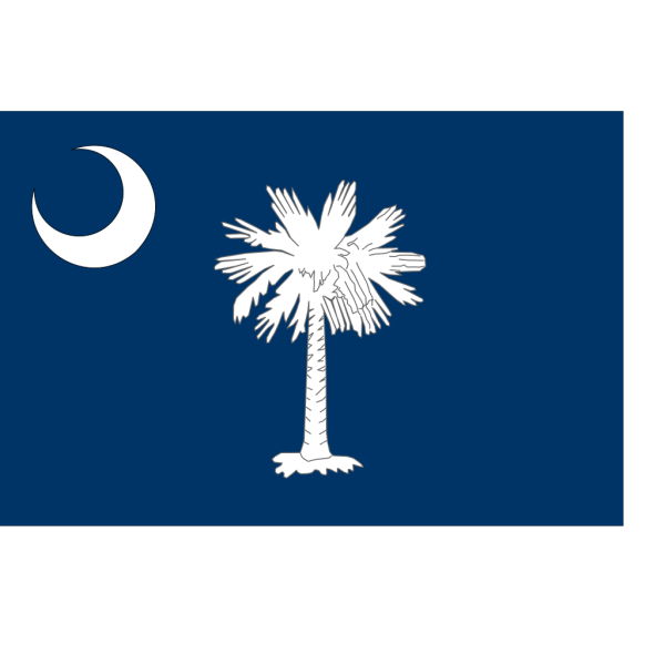 United States - South Carolina PNG Clip art