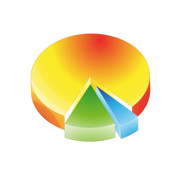 Colored Pie Chart PNG images