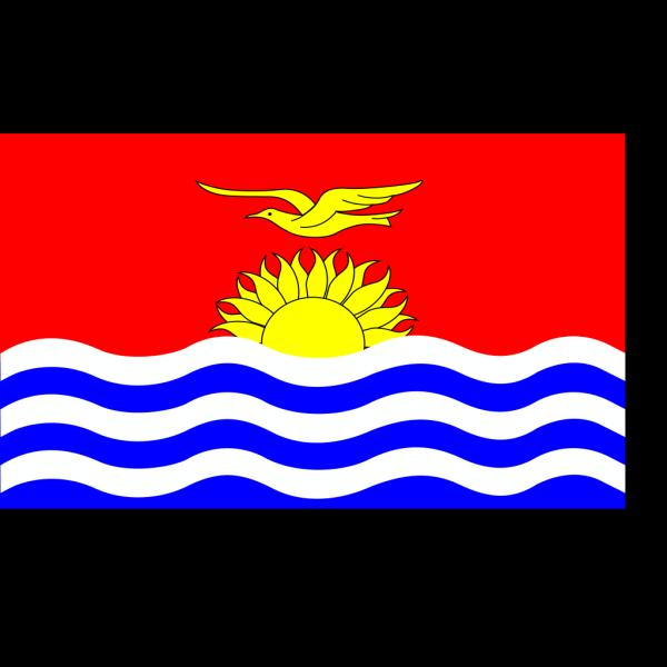 Kiribati Flag PNG Clip art