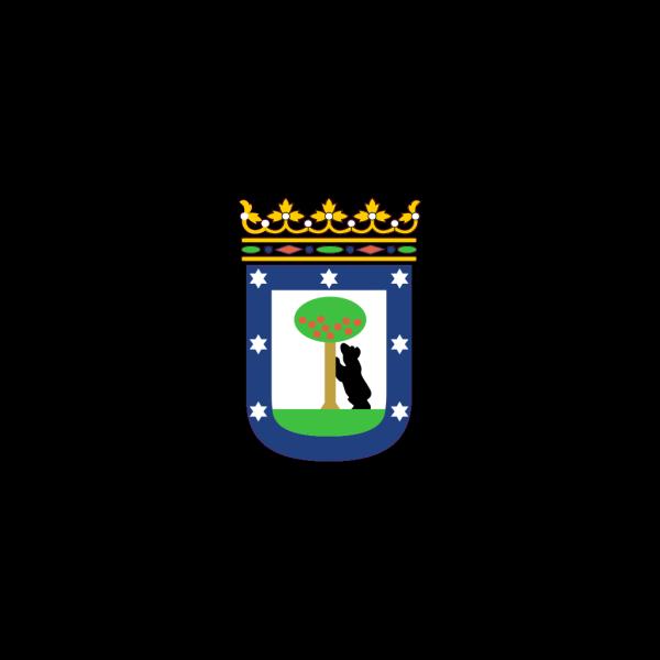 Bandera De La Ciudad De Madrid PNG Clip art