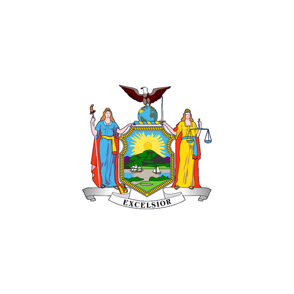Us New-york State Flag PNG Clip art