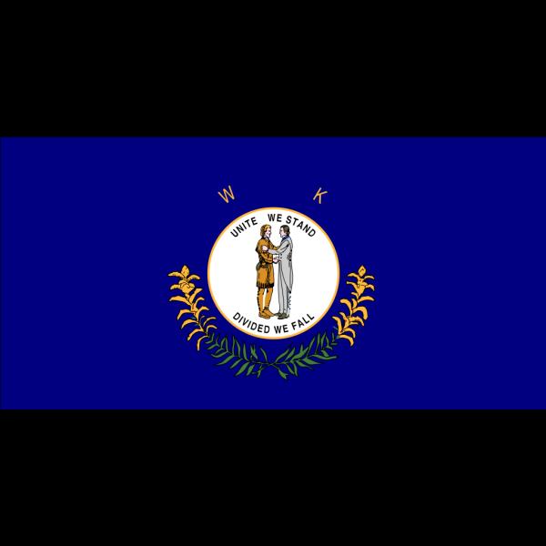 Us Kentucky Flag PNG Clip art