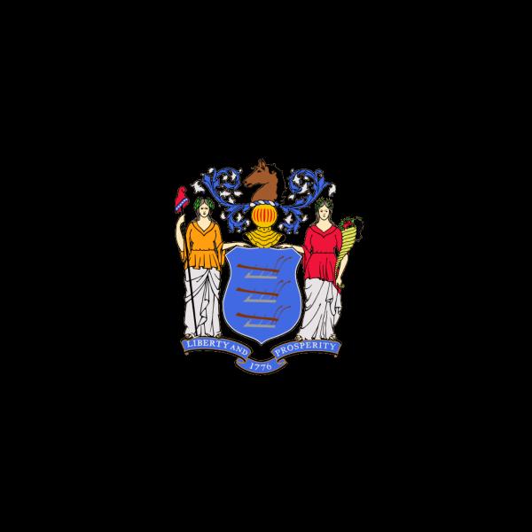 Us Newjersey Flag PNG Clip art