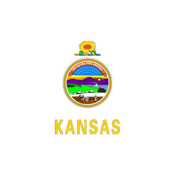 Us Kansas Flag PNG icon