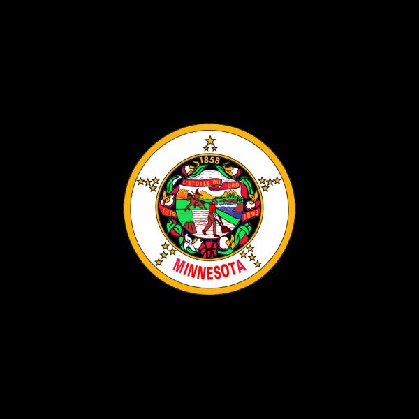 Us Minnesota Flag PNG Clip art