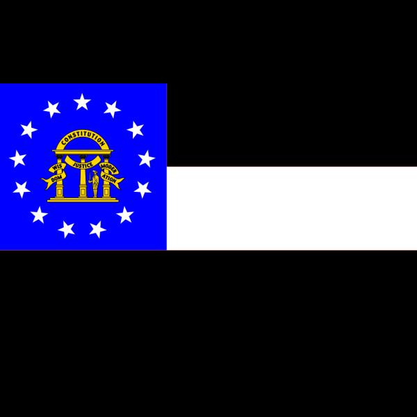 Us-georgia-flag PNG Clip art