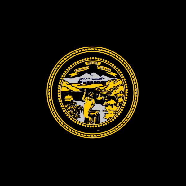 Us Nebraska Flag PNG Clip art
