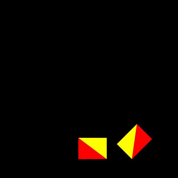 Semaphore Golf PNG Clip art