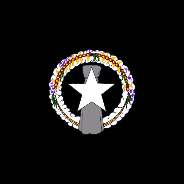 Northern Mariana Flag PNG Clip art