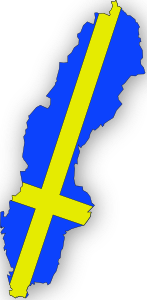 Sweden Flag In Sweden Map PNG Clip art