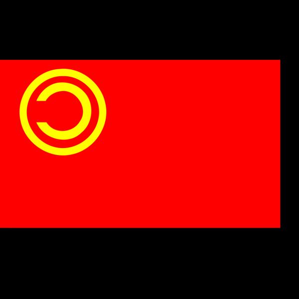 Copyleft Comic Flag PNG Clip art